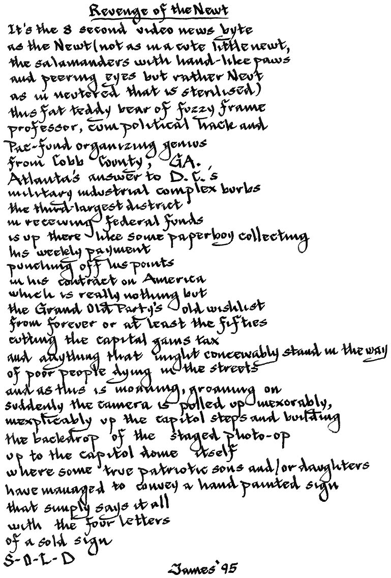 Dead Silence Poem