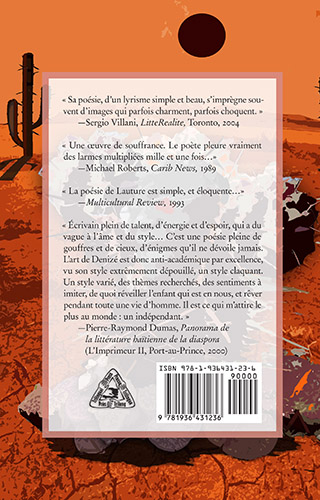 La quatrième de couverture de Les Dards Empoisonnés du Denizen.